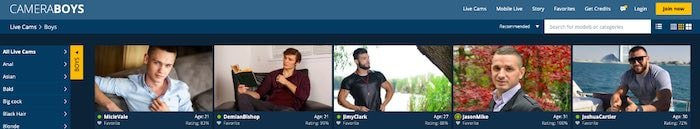 CameraBoys Gay Cam Site